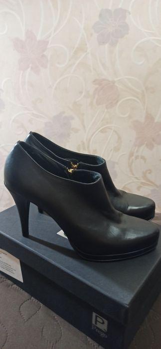 Очень классные, кожаные туфли. Размер 40 Киев - изображение 1
