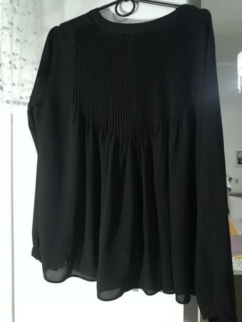 Czarna bluzka koszula zara