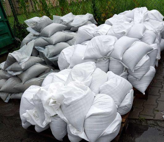 Piasek szary budowlany workowany 25 kg, Luzem, BIG BAGI