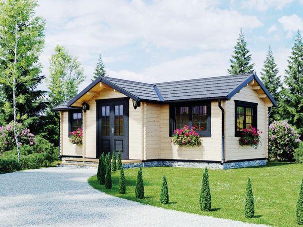 Drewniany dom letniskowy MORENA II 35m2