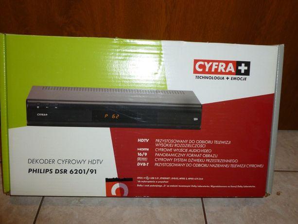 Dekoder Cyfrowy HDTV Philips DSP 6201/91-tanio sprzedam