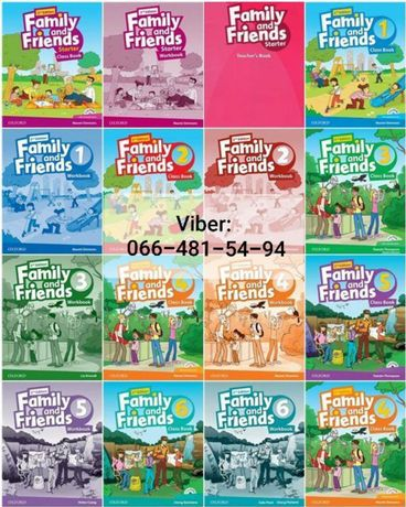Книги Family and Friends 2nd Edition все части!