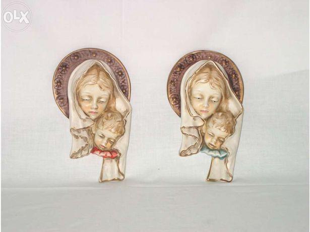 Nossa Senhora, de pendurar em cerâmica