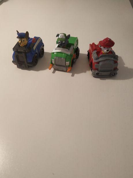 3 Carros patrulha pata