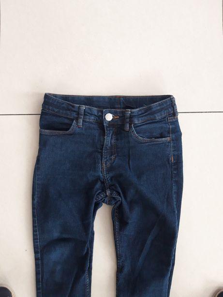 H&M jeansy rurki skinny chłopiec 152 wiosna