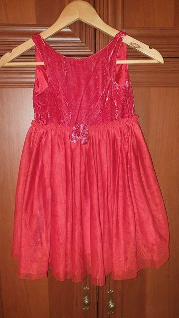 Продам нарядное платье НМ.5-6 лет