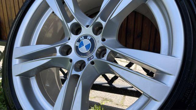 """Super Alufelgi z oponami 18"""" oryginalne BMW M-pakiet"""