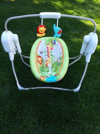 Качелька  для младенцев на акамуляторе.