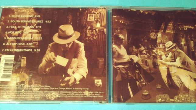 Led Zeppelin ‎– In Through The Out Door , CD 1994 , USA