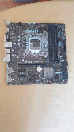 Motherboard MSI h170M pro-dh