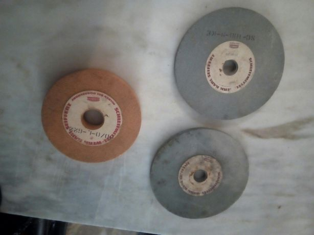 Conjunto de 3 Discos de Esmeril