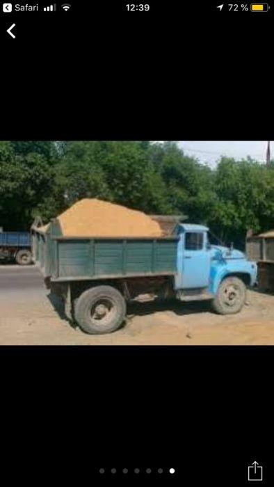 Песок,щебень не дорого в Одессе.Ремонт дорог.Благоустройство.