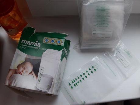 27шт Пакеты для заморозки грудного молока