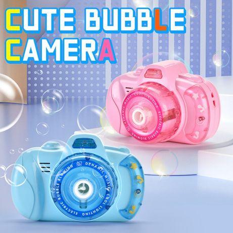 Детский фотоаппарат для мыльных пузырей, генератор Bubble Camera