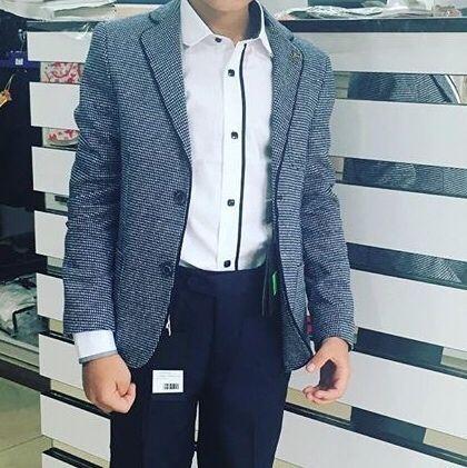 Стильный пиджак на мальчика