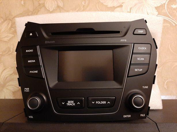 Штатная аудио система Hyundai Grand Santa Fe