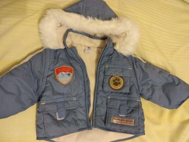Куртка зимняя детская 68р