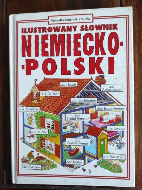 Ilustrowany słownik Niemiecki - Polski.