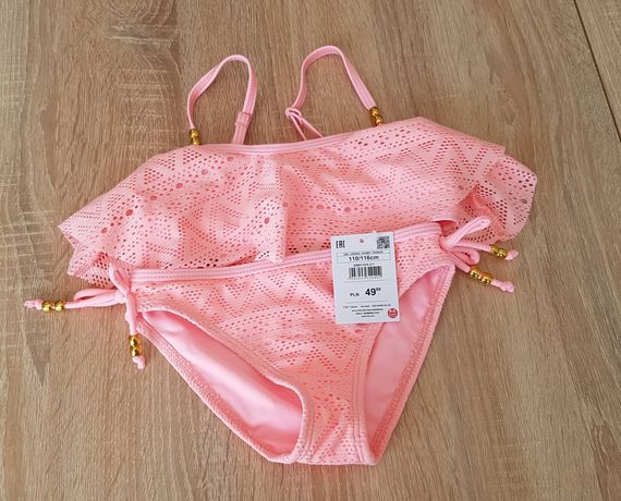 Nowy kostium kąpielowy Reserved rozmiar 110/116