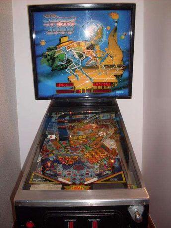 Máquina de Flipper/Pinball/Fliper/Solex/Vespa/bomba gasolina vintage