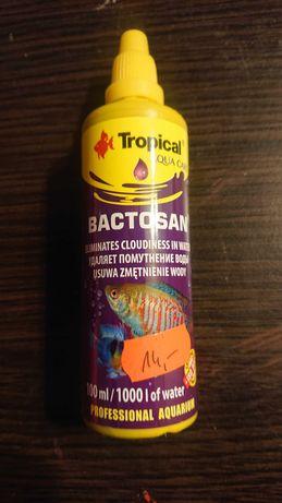 Bactosan tropical do klarowania wody w akwarium 100ml usuwa zmetnienie