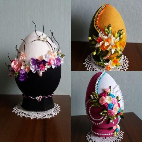 Jajko wielkanocne ręcznie robione handmade hand made 16-22 cm