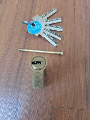 Canhão fechadura Tesa com 5 chaves