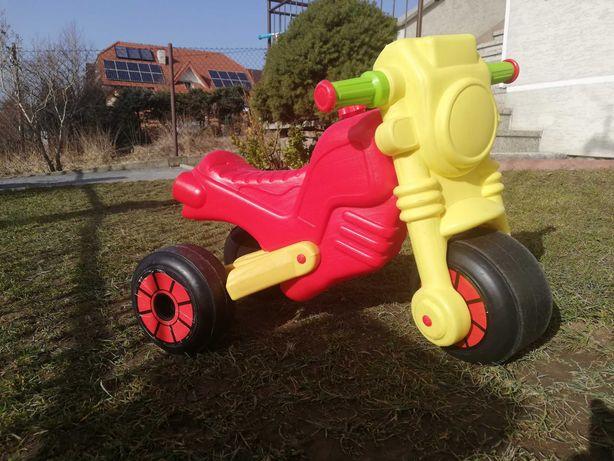 Motorek jeździk trójkołowy biegowy dla dziecka zabawka