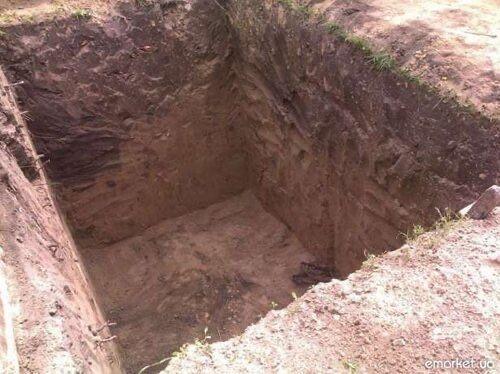 Земляные работы, копка траншей, ям, под фундамент. Прокол под дорогой.