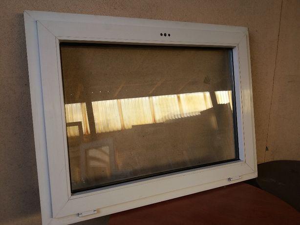 Okno używane z Niemiec plastikowe 105x75
