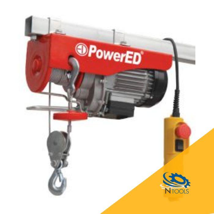Guincho Eléctrico PowerED 125/250Kg