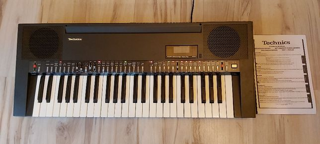 Keyboard Technics SX-K250 stereofoniczny (vintage) używany - klasyk