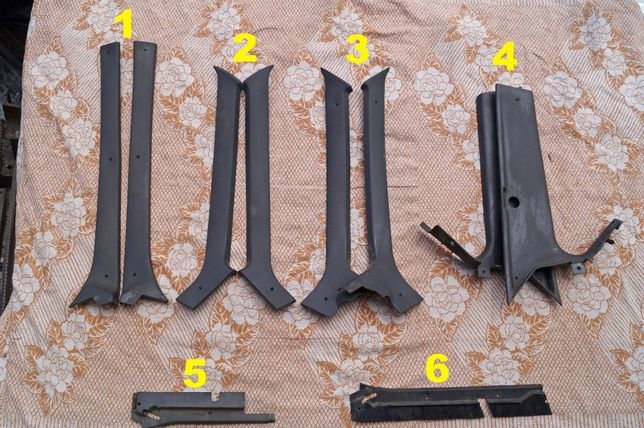 Пластик/облицовка/обивка стойки/накладка/решетка ВАЗ 2108,2109,21099