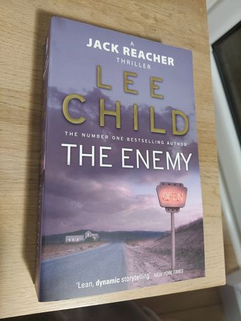 Lee Child The Enemy ksiazka po angielsku