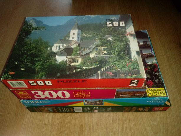 Puzzle 300 / 500 / 500 elementów