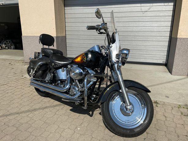 Harley-Davidson FatBoy Gaźnik Aerograf