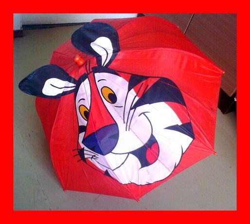 Детский зонтик парасолька Тигра