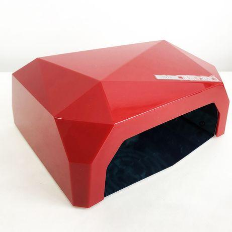 Сушилка для ногтей UV LAMP CCF+LED. Цвет: красный