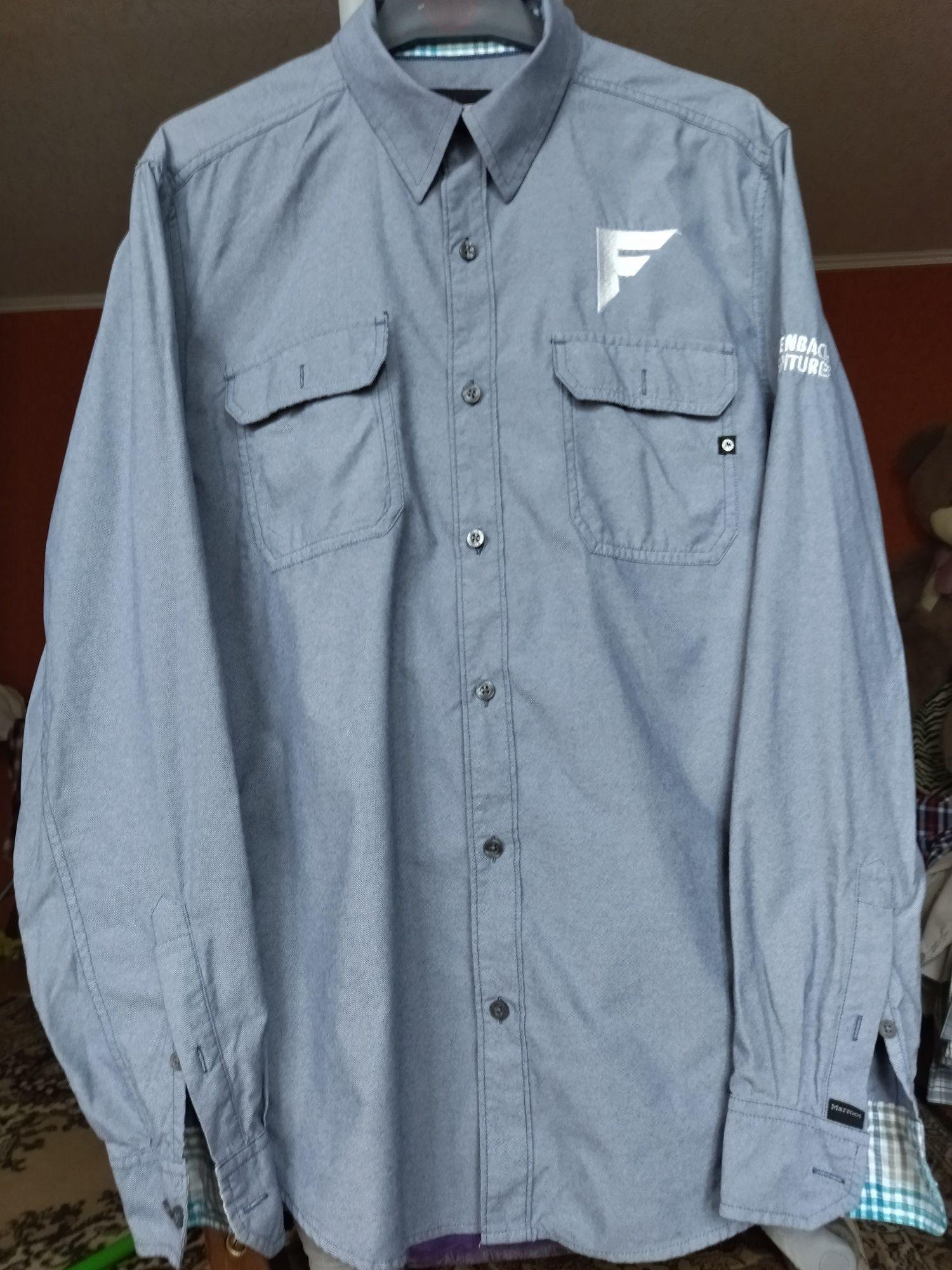 Брендовые рубашки Marmot, Gant. Размер М