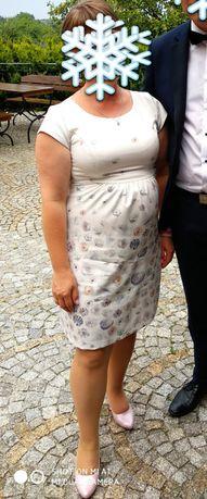 Sukienka wizytowa ciążowa Happymum Happy mum M 38/40
