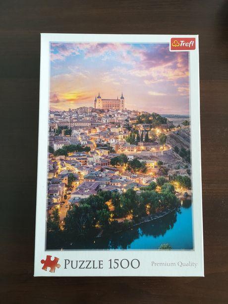 Puzzle 1000 Eurographics + 1500 Trefl