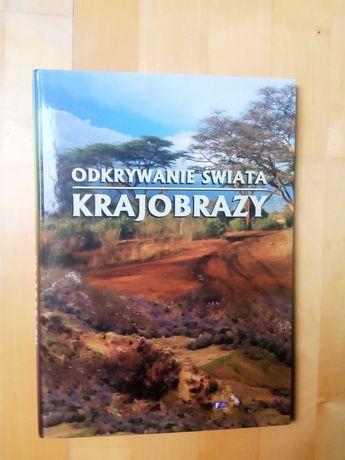 """""""Odkrywanie świata. Krajobrazy"""" książka- album. TANIO"""