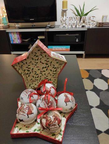Bolas decoração árvore de Natal