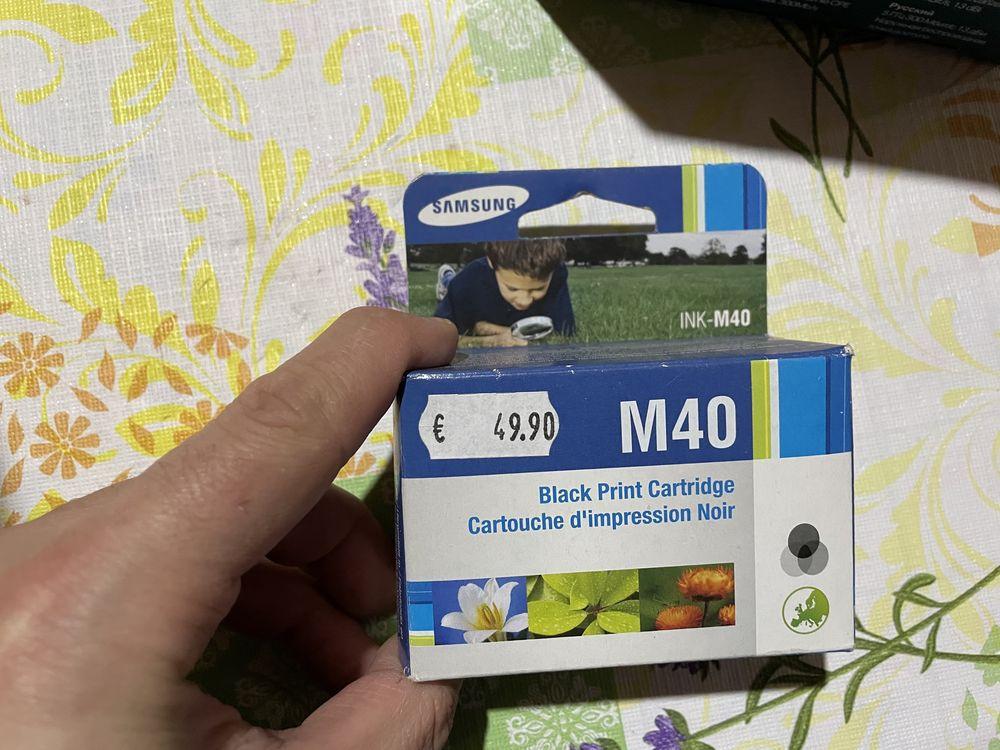 Tinteiro Preto Samsung M40 Original