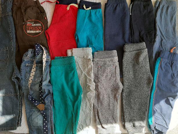 spodnie chłopięce r. 74/80