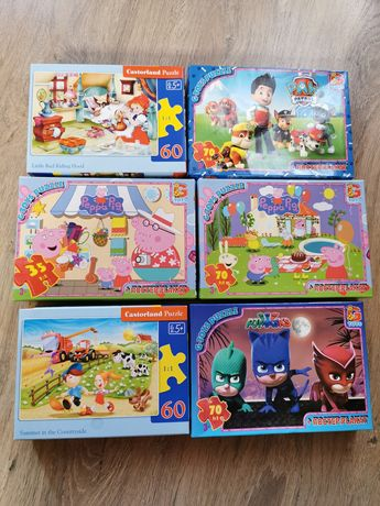 Пазлы G-toys и Castorland