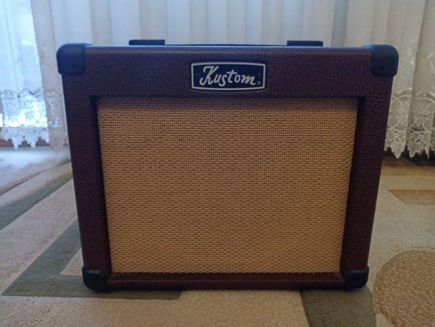 Продам комбопідсилювач для акустичної гітари Kustom Sienna 16 Pro