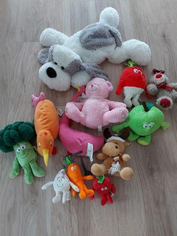 Zestaw pluszakow, zestaw zabawek, świeżaki,