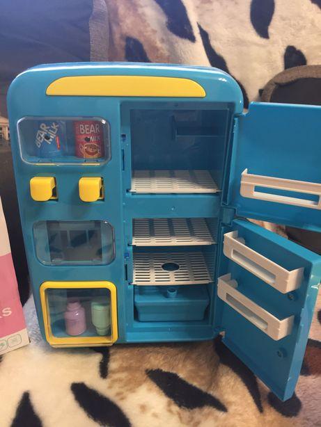 Музыкальный холодильник 26 см пар свет звук