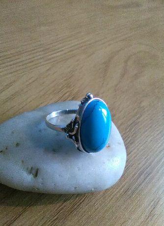 pierścionek srebrny PRL pr925